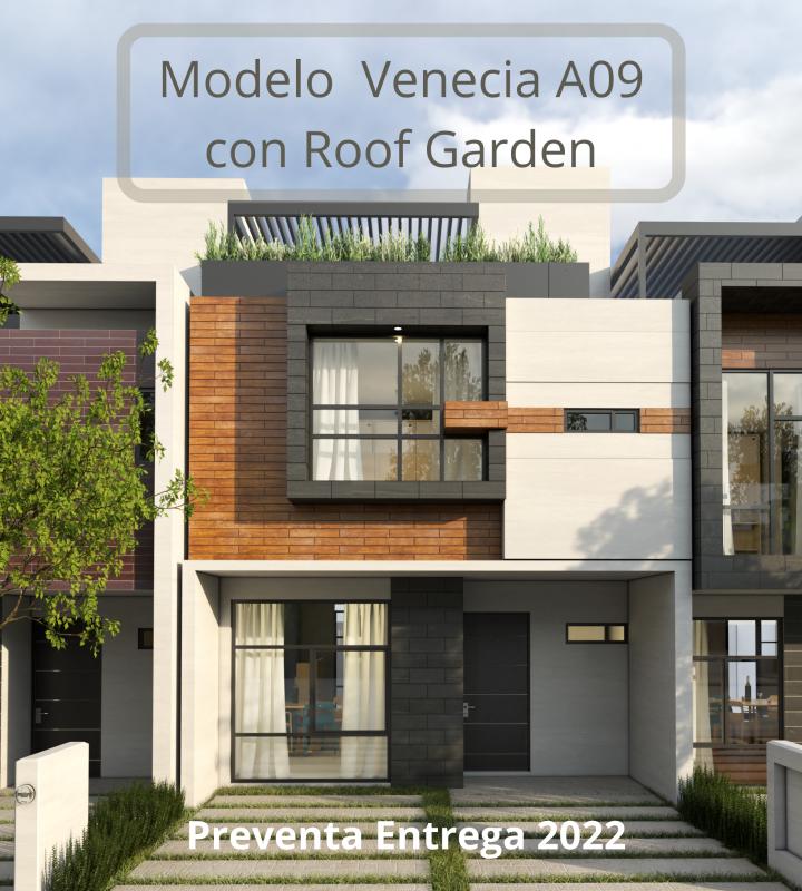 Modelo Venecia A09 con Roof Garden