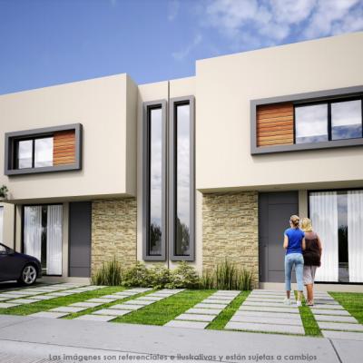 Casa en Paseo del Lago, Morelia. MODELO CONSTANZA 319