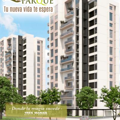Departamentos en Venta en Torres Paseo del Parque, Tres Marías, Morelia.