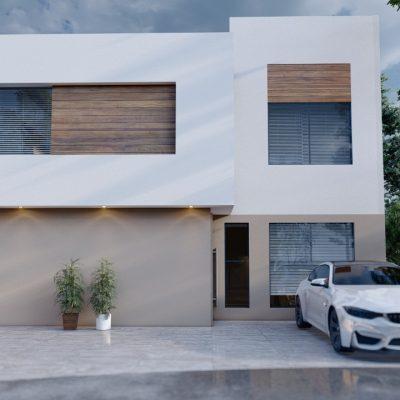 Casa Nueva de Preventa en Fraccionamiento LomAlta Tres Marías, Morelia.