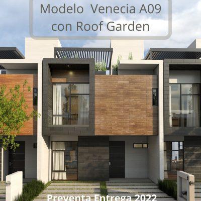 Casa en preventa mod. Venecia A09R